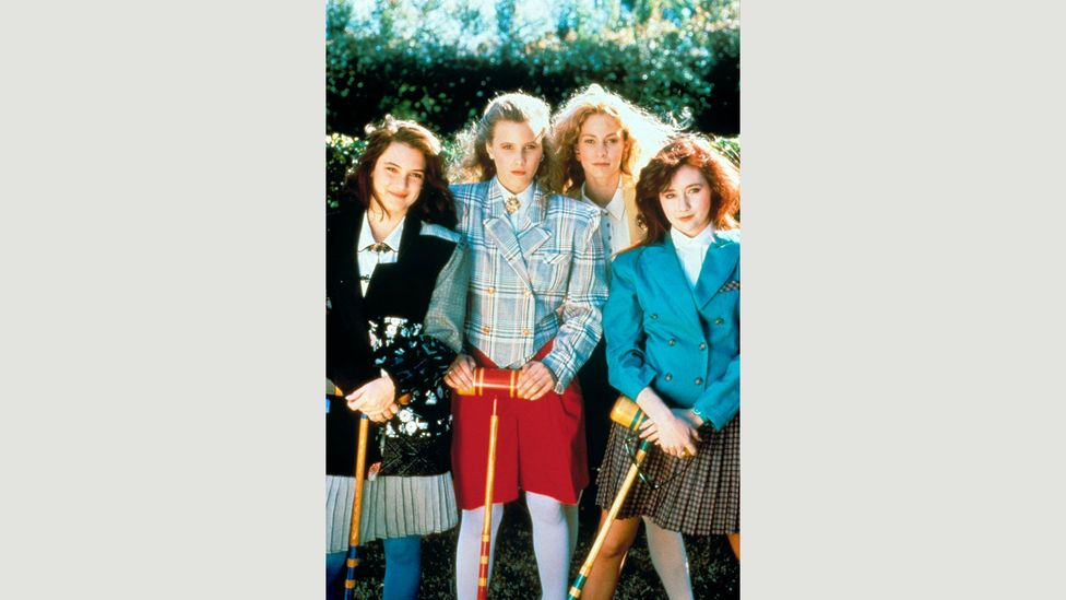 Winona Ryder plays Veronica, the new girl at a high school who can't stand her three best friends (Credit: Alamy)