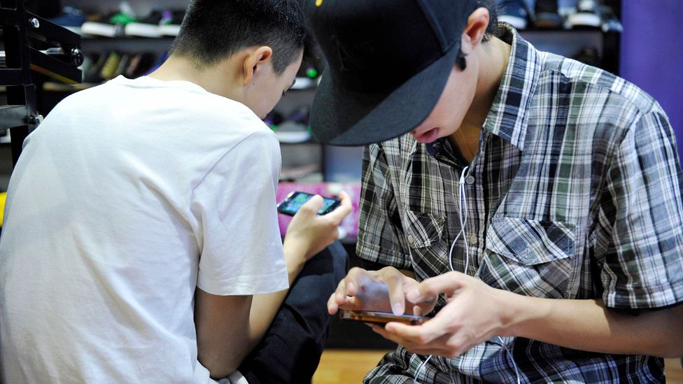 Many of today's teens regard email as too formal to use with each other and prefer the text messaging they grew up with (Credit: Getty Images)