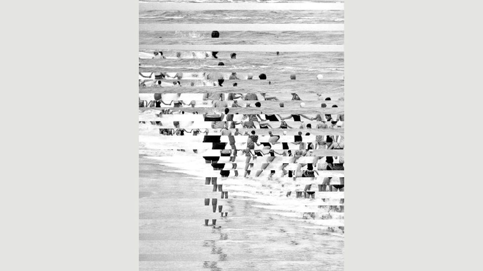 Medley by Edouard Taufenbach – collage of silver print photographs made from Sébastien Lifshitz's collection (Credit: Edouard Taufenbach/Gallery Binome)
