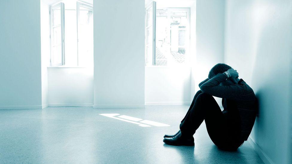 Person suffering breakdown (Credit: Alamy)