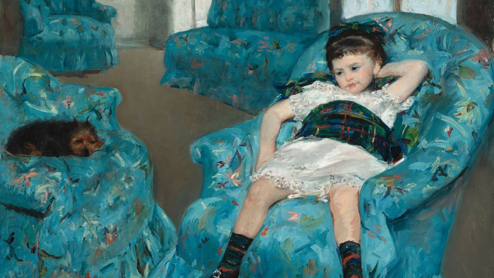 Little Girl in a Blue Armchair (Credit: National Gallery of Art, Washington)