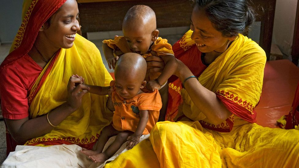 The cooperation of local families in areas such as Dhaka has been essential for the long-term studies of malnutrition (Credit: Alamy)