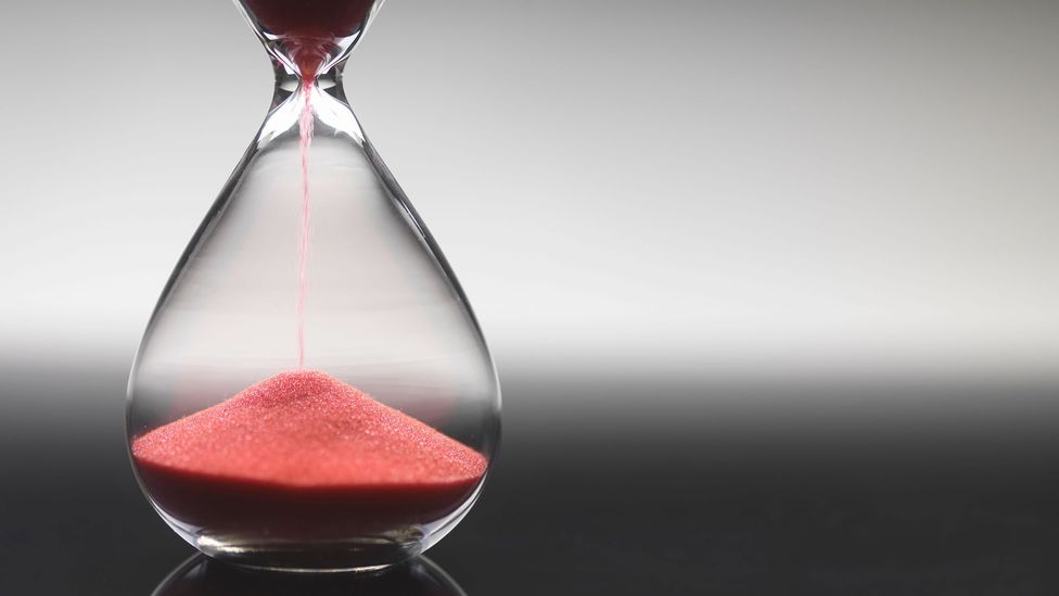 Sands in hourglass (Credit: Alamy)