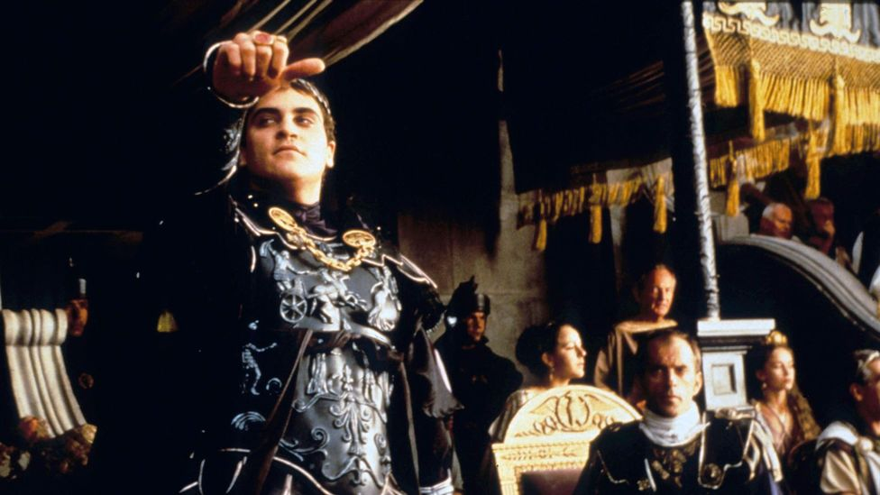 Joaquin Phoenix made a memorable impression as Emperor Commodus in Gladiator – his nephew, equally decadent, would have been the sequel's villain (Credit: Alamy)