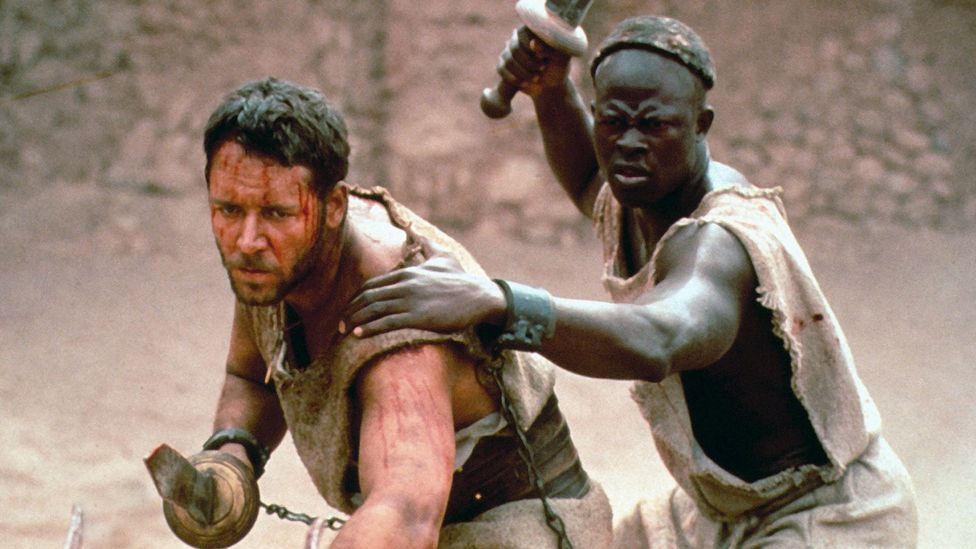 Djimon Hounsou played Juba, Maximus's fellow gladiator who teamed up with him in the Colosseum – he would have been back for Gladiator 2 (Credit: Alamy)