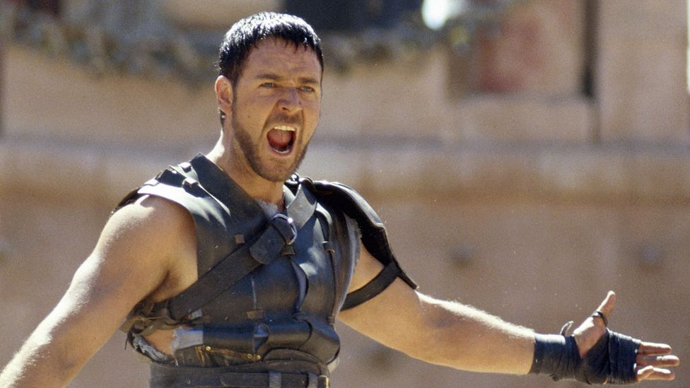 Russell Crowe as Maximus in Gladiator (Credit: Alamy)