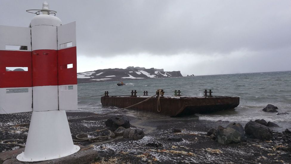 Death is never far away in Antarctica (Credit: Richard Fisher)