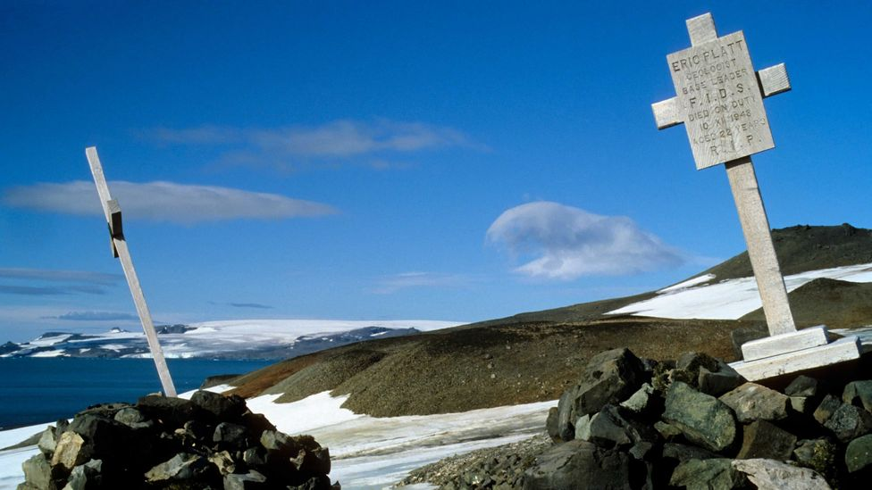 The graves of past explorers (Credit: Getty Images)