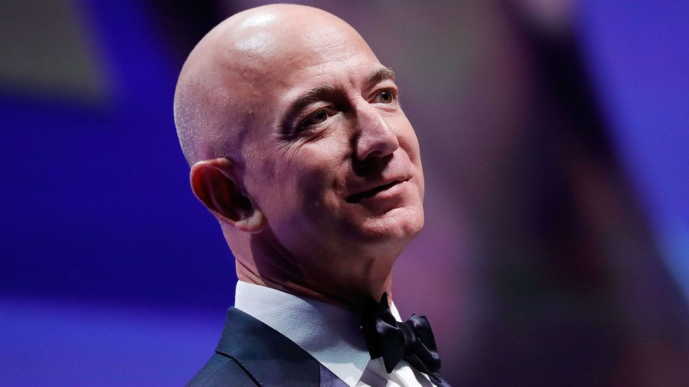 With $156bn, Jeff Bezos is the world's richest person – taking the top spot from Bill Gates in October last year (Credit: Getty Images)