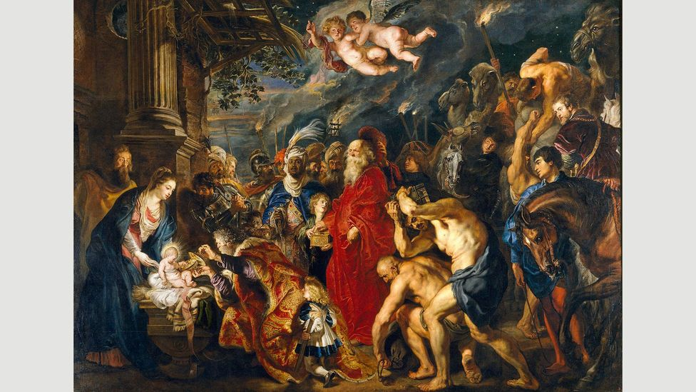 Rubens was prominent enough in his own lifetime to afford lapus lazuli to create the blues in his Adoration of the Magi – you can see this work in the Prado (Credit: Alamy)