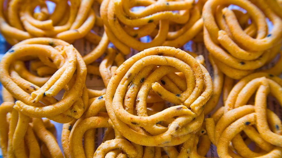 Snacks like these Indian murukku can be made with flour from 'forgotten' crops (Credit: Alamy)