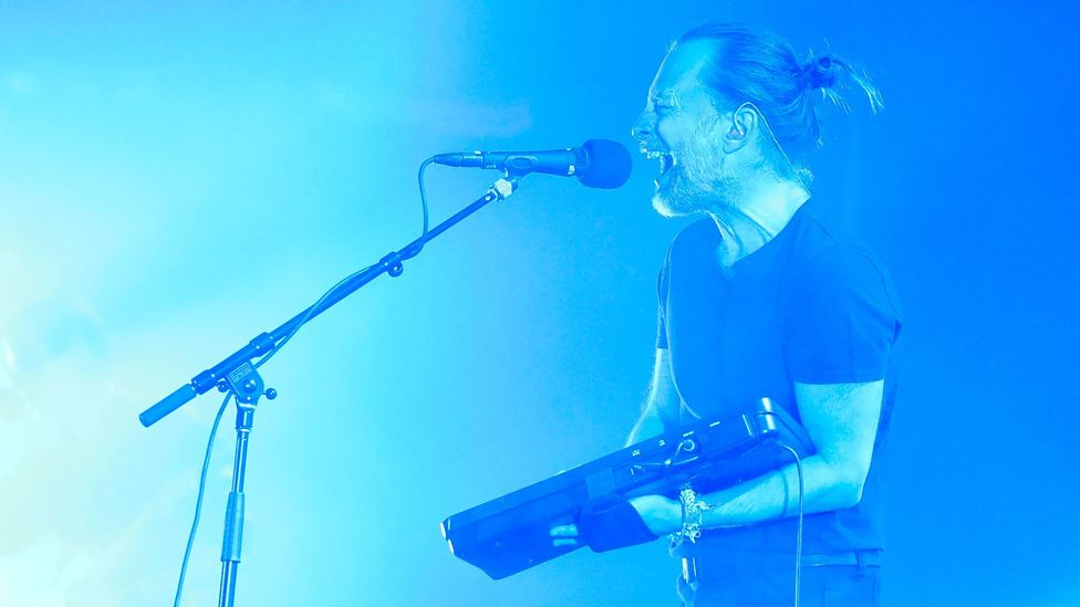 Valence data has been used to develop a 'gloom index' of Radiohead songs (Credit: Getty)