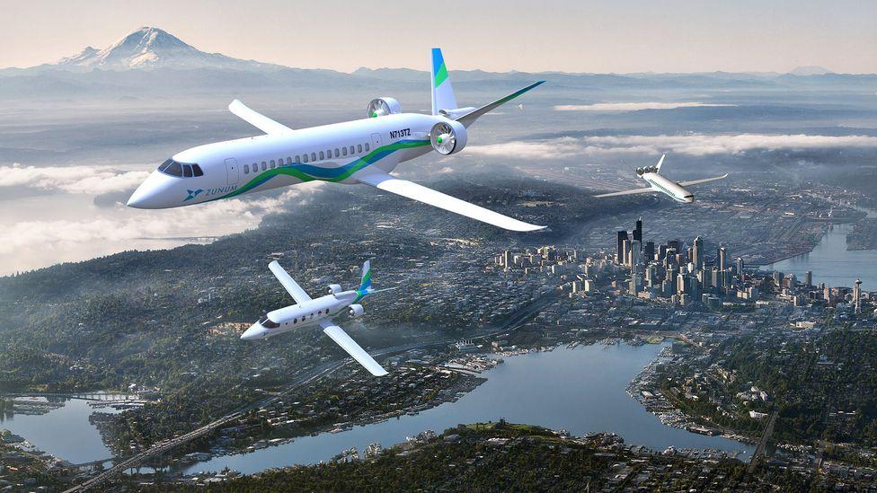 Zunum Aero plans a range of aircraft, including a 100-seat airliner by around 2020 (Credit: Zunum Aero)