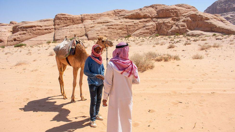 In the desert, everyone is a friend (Credit: Amanda Ruggeri)