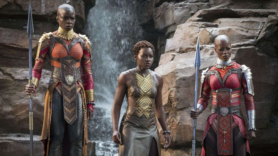 The inspiration for the Dora Milaje, the all-female special forces unit in the Marvel film Black Panther, is rooted in reality (Credit: Marvel/Disney)