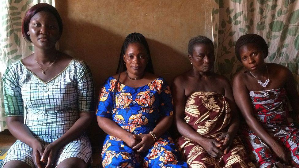 Queen Hangbe's attendants are descendants of the Amazons, a unit of elite female warriors (Credit: Fleur Macdonald)