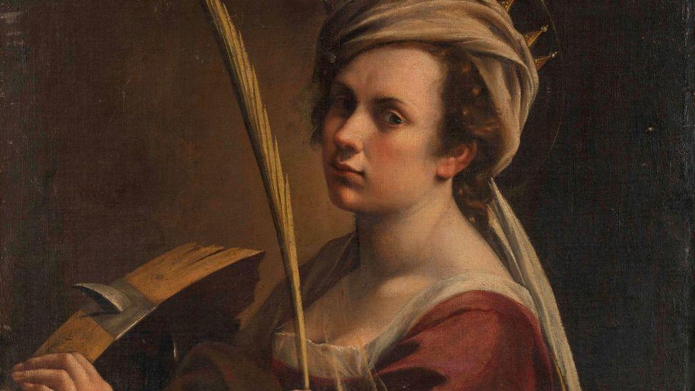 Artemisia Gentileschi, Self-Portrait (Credit: National Gallery London)