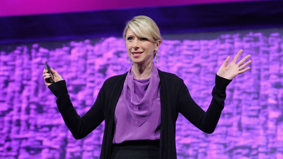 "Harvard psychologist Amy Cuddy helped popularise the idea of the ""power pose"" (Credit: Getty Images)"