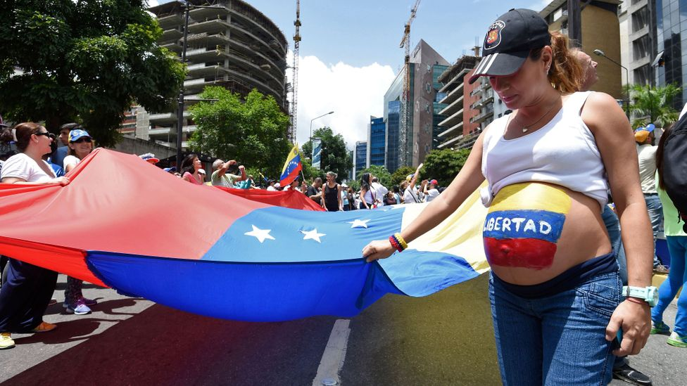 In the wake of the financial crisis health workers in Venezuela report a rise in unplanned pregnancies, STDs and HIV (Credit: Getty Images)