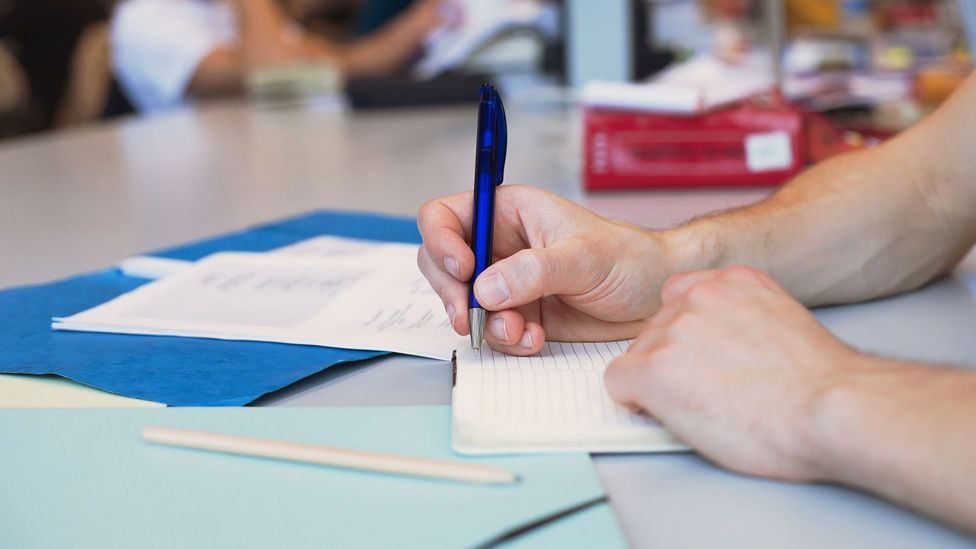 Making too many notes can be a barrier to remembering the crucial information (Credit: Alamy)