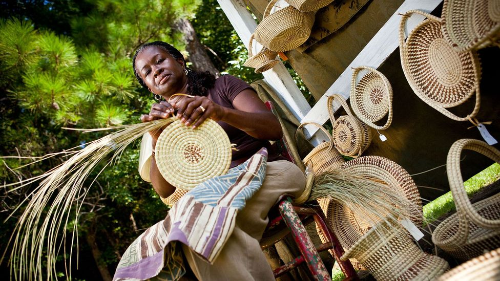 The Gullah Geechee have preserved African crafts, such as boat building and basket weaving, out of necessity (Credit: Richard Ellis/Alamy)