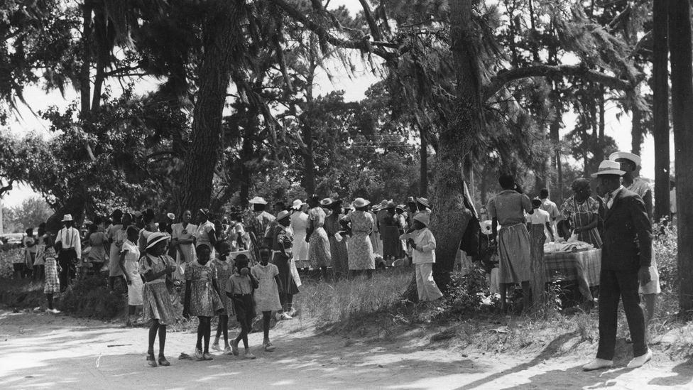 The Gullah Geechee are descendants of freed African slaves who inhabited coastal lands in the Southern US (Credit: Gado Images/Alamy)
