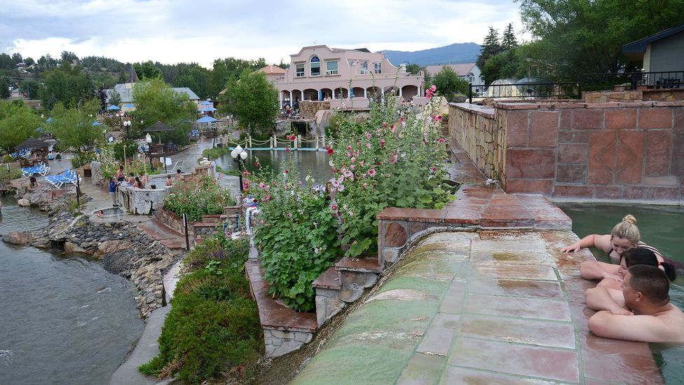 First discovered in the 1800s, the hot springs are popular for therapeutic purposes (Credit: Getty Images)