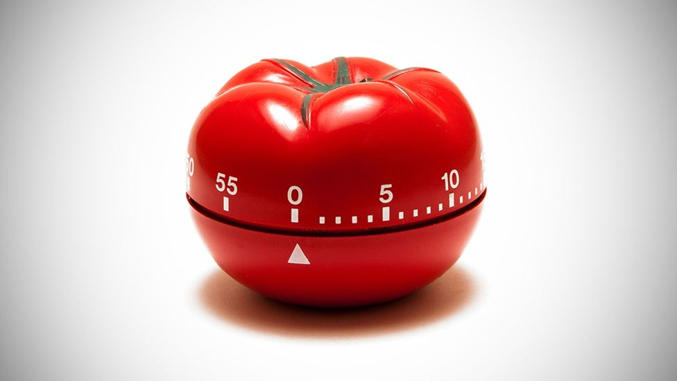The pomodoro technique advises people to set a kitchen timer to 25 minutes, then work in these short bursts (Credit: Alamy)