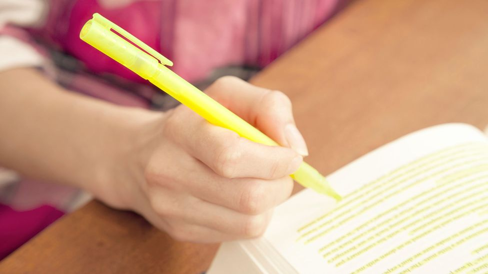 If you highlight too many notes, you may bury the information that's most important (Credit: Alamy)
