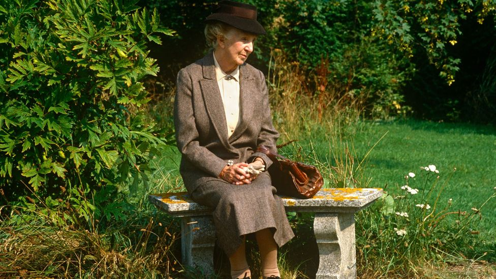 Jane Marple (Joan Hickson) is a world-renowned symbol of Englishness, thanks to the popularity of the Miss Marple books, as well as television and film adaptations (Credit: BBC)