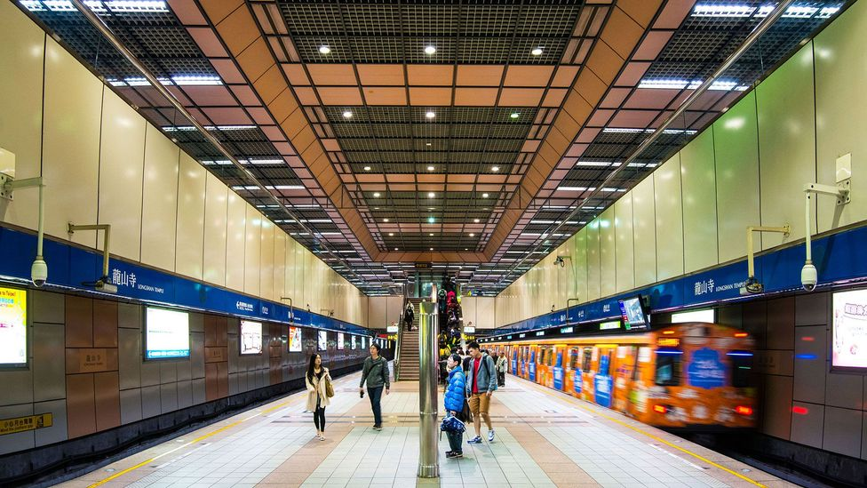 Taipei's Metro extends to nearly every part of the city, making it easy for residents to get around (Credit: Sean Pavone/Alamy)