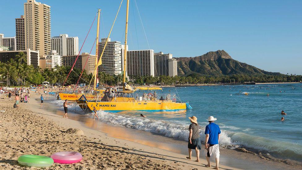 Over the past several years, development of walkable communities has made Honolulu more liveable (Credit: Regula Heeb-Zweifel/Alamy)