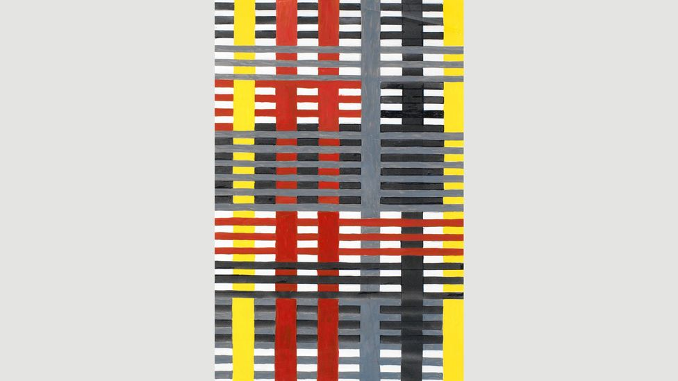 Anni Albers' Wallhanging, 1926, is typical of the precise, geometric style of the Bauhaus (Credit: The Josef and Anni Albers Foundation/ Artists Rights Society ARS)