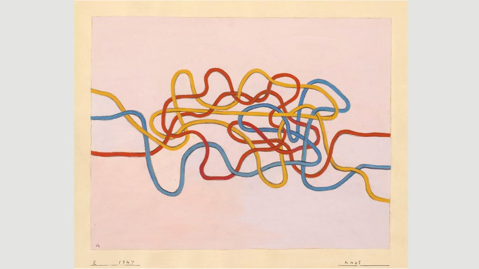 Knot, 1947, is an example of Albers' work at its most innovative (Credit: The Josef and Anni Albers Foundation/ Artists Rights Society ARS)