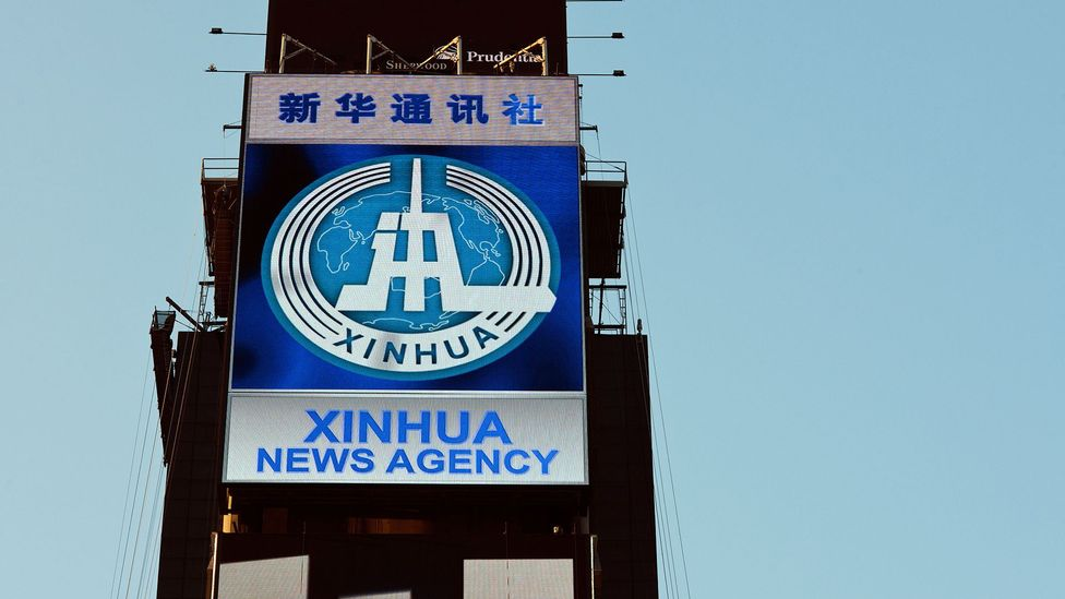 Chinese news agency Xinhua says it has already started using AI to generate short bulletins (Credit: Alamy)