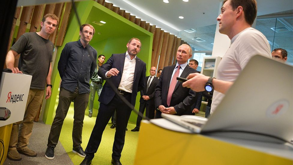 Yandex's success has brought it visits from Russian president Vladimir Putin (Credit: Getty Images)