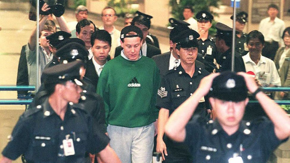 """""""Rogue trader"""" Nick Leeson brought down Barings Bank in 1995 with losses of £827 million (Credit: Getty Images)"""