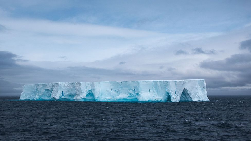 It may be possible to harvest icebergs from Antarctica, which could be carried by natural currents to South Africa (Credit: Getty Images)