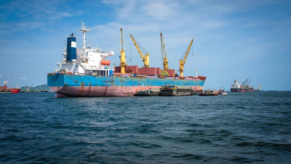 Solid bulk cargoes can suddenly turn from a solid state into a liquid state, which can be disastrous for any ship carrying them (Credit: Getty Images)