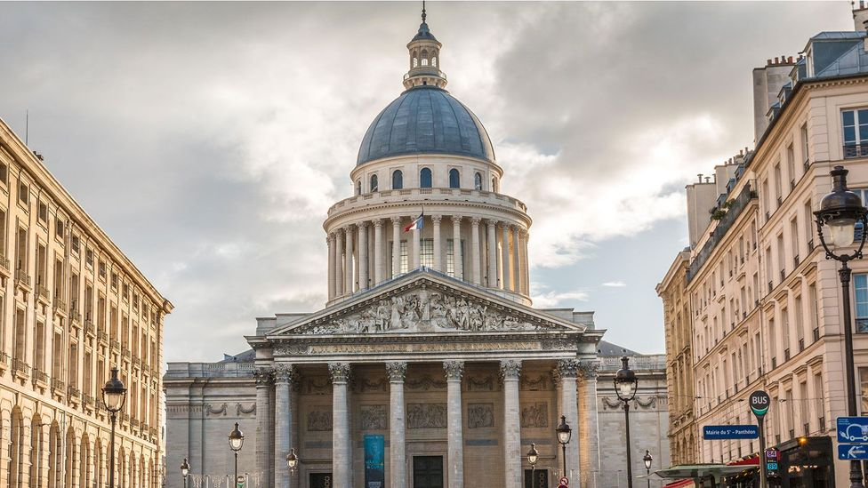 Paris' Pantheon once stored different weights and measures sent from all across France in anticipation of the new standardised system (Credit: pocholo/Alamy)