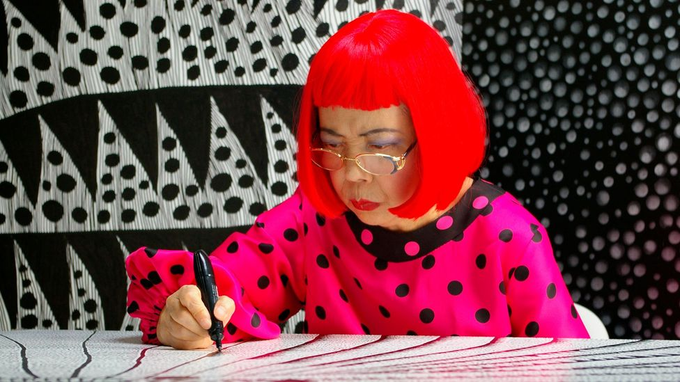 Kusama checked herself into a hospital that embraced art therapy – and began to rebuild her life and make art again (Credit: Tokyo Lee Productions)