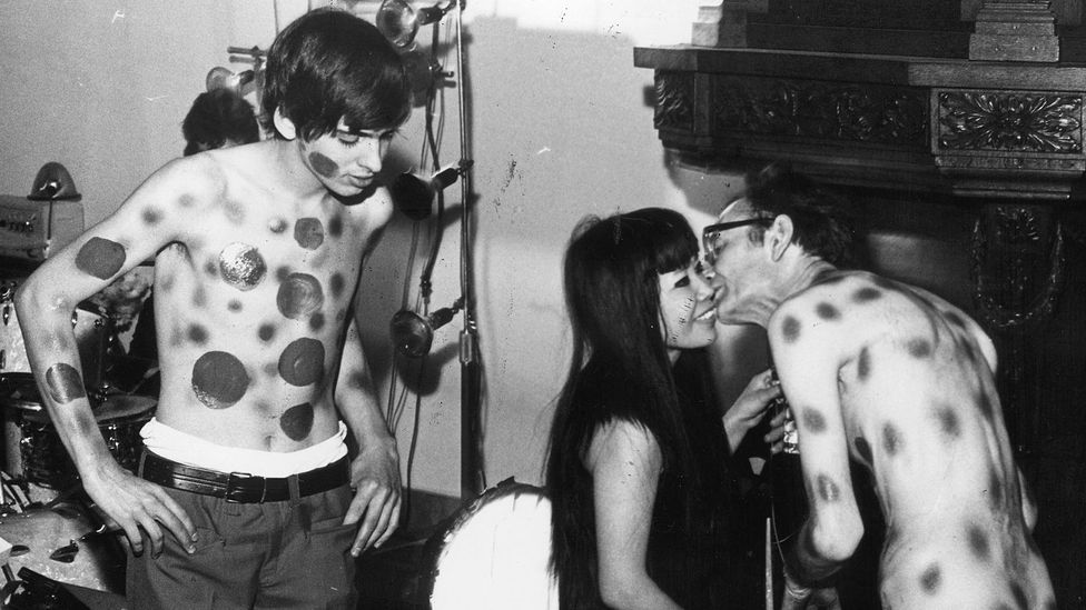Frequent nudity in her works drew scorn in Kusama's native Japan and brought shame on her family (Credit: Getty)