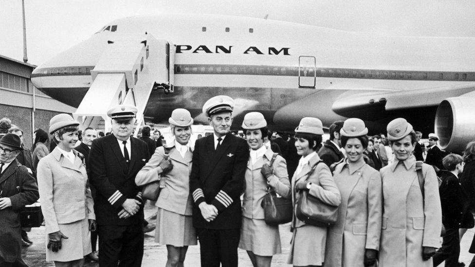 Pan Am flews it first flight across the Atlantic in January 1970 (Credit: Getty Images)
