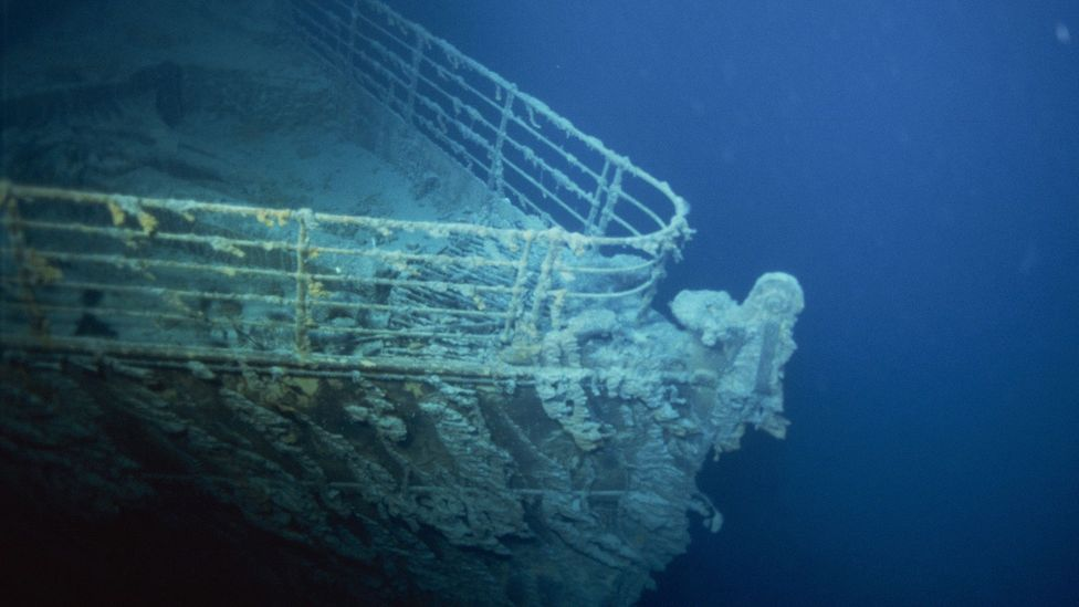 When Robert Ballard's expedition visited the wreck site in 1986, the Titanic had been under water for near 75 years (Credit: Getty Images)