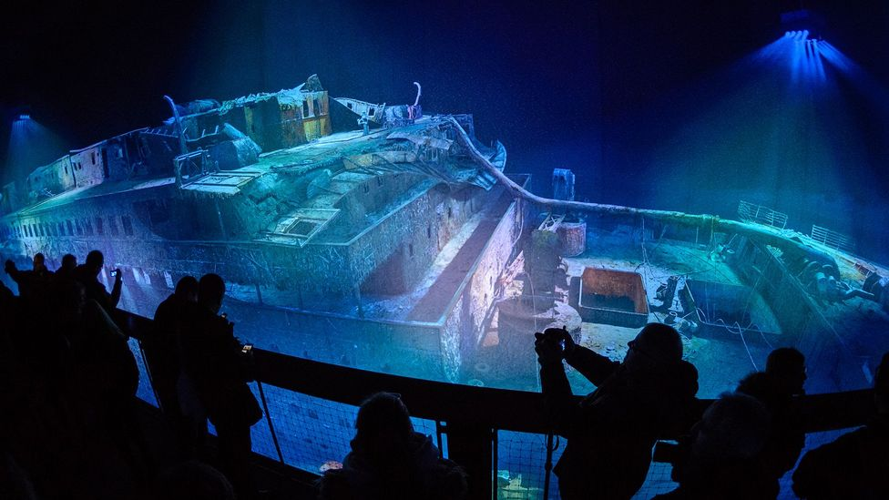 The wreck has already been brought to life in exhibitions recreating the wreck pn digital displays (Credit: Getty Images)