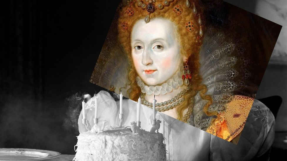 Queen Elizabeth I lived until the age of 70; life expectancy at the time could be longer for villagers than for royals (Credit: BBC/Getty)