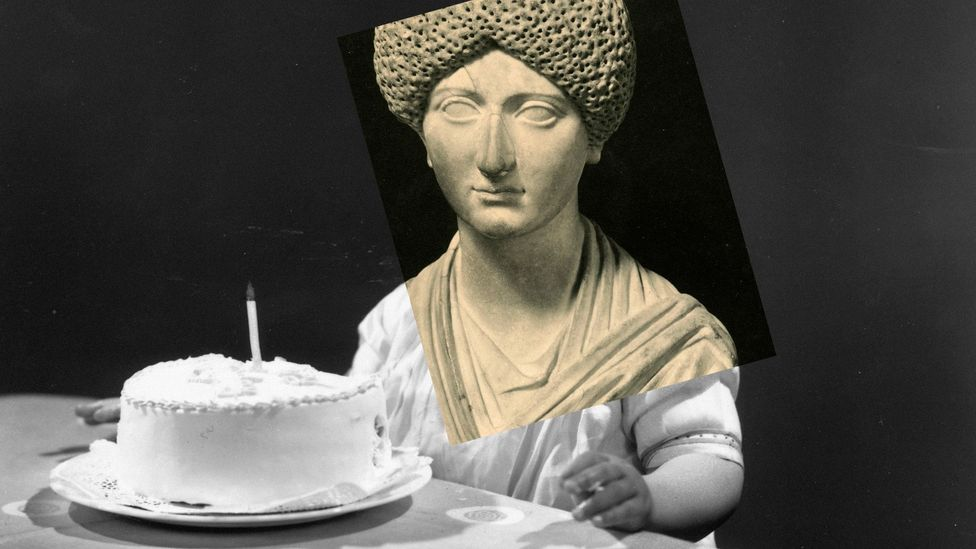 The Roman empress Domitia died in 130 at the age of 77 (Credit: BBC/Alamy)