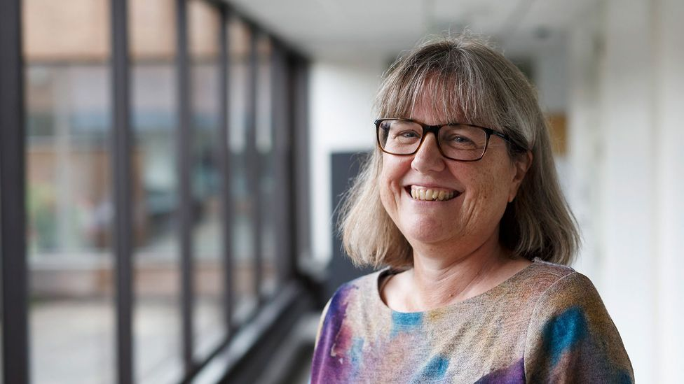 Fifty-five years after Goeppert Mayer, Donna Strickland won a Nobel prize in physics, shared with laser physicists Arthur Ashkin and Gerard Mourou (Credit: Getty)