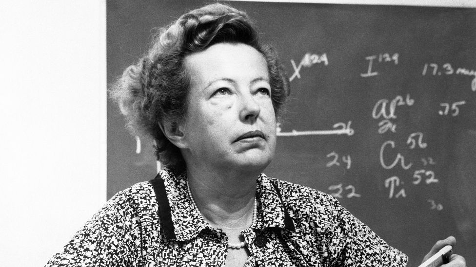 Sixty years after Marie Curie, Maria Goeppert Mayer became the second woman to win a Nobel prize in physics, shared with Hans D Jenson and Eugene Wigner (Credit: Getty)