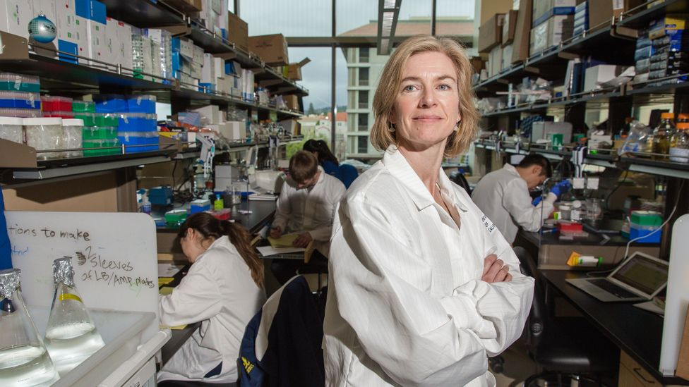 Gene editing tool CRISPR-Cas9, invented by Jennifer Doudna, has revolutionised the speed and cost of editing genes (Credit: Getty Images)